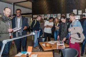 Exposition de Calligraphie Arabe a Copenhague