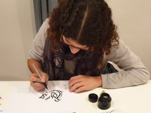 Atelier de Calligraphie a Paris