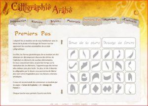 CDrom de cours de Calligraphie Arabe